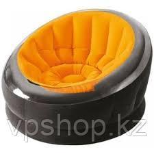 Надувное кресло INTEX 68582 112Х109Х69СМ, (оранжевый)