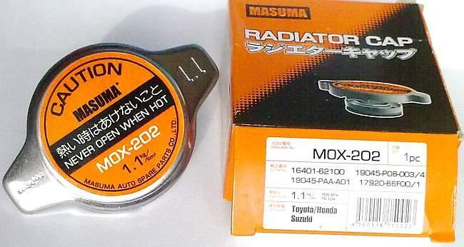 MOX-202 Крышка радиатора 1.1кг/см Masuma для Toyota/Honda/Suzuki