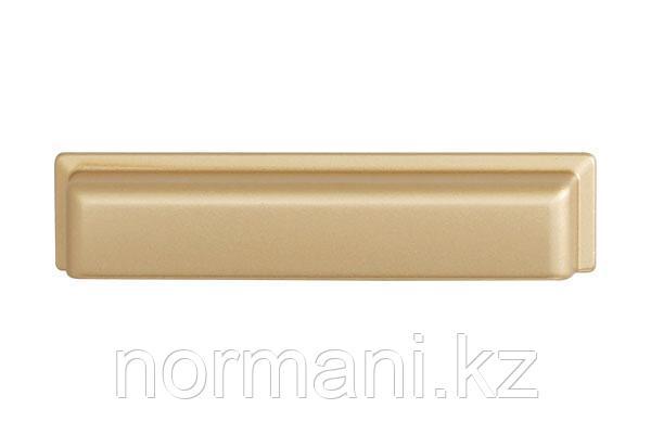 Ручка-ракушка 96 золото матовое