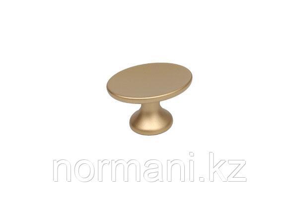 Мебельная ручка для кухни золото матовое