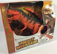 Dragon Интерактивный Тираннозавр сенсорный свет, звук, режим ходьбы