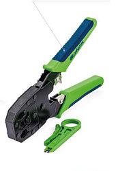 Клещи для обжима телефонных и компьютерных клемм 4P, 6P, 8P, функция обрезания проводов Сибртех