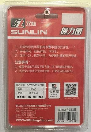 Кистевой силиконовый эспандер (бублик) Sunlin Sports 50 LB 1325, фото 2