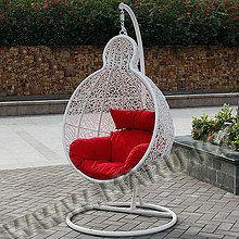 Подвесное кресло плетеное в Алматы, фото 2