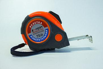 Рулетка с обрезиненным корпусом 7,5 см