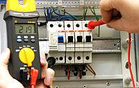 Установка автоматического выключателя трехпол. на Din-рейку