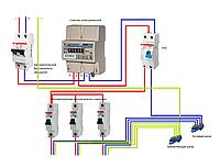 Установка счетчика электрического однофазного