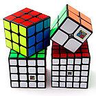 Набор кубиков Moyu - черный пластик, фото 2