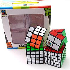 Набор кубиков Moyu - черный пластик