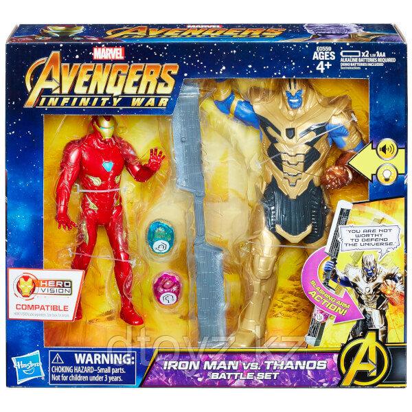 Игровой набор Танос и Железный Человек Avengers