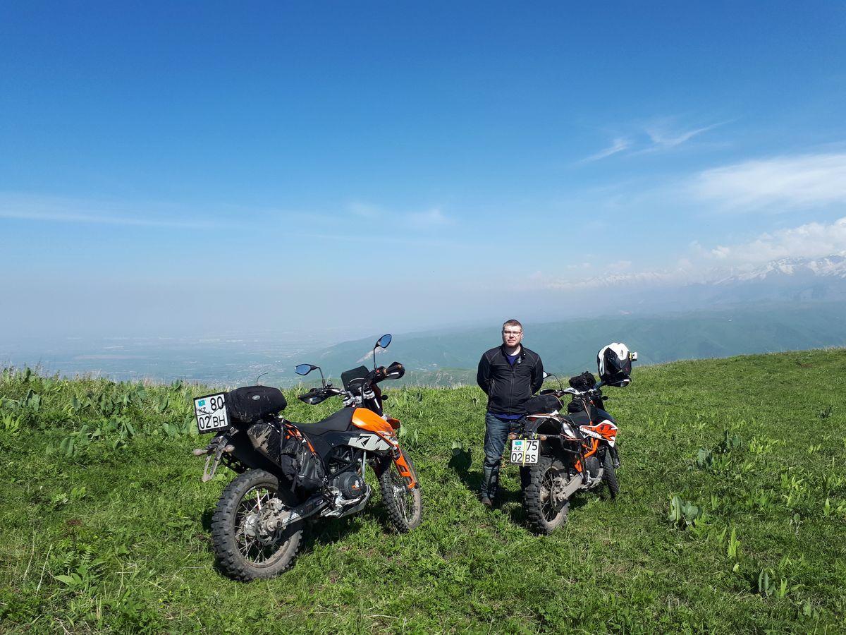 Мототур по плато Ушконыр