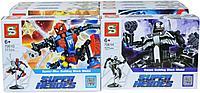 7061 Конструктор супергерой Мстители 8 видов из 8шт цена за 1шт 18*14см, фото 1