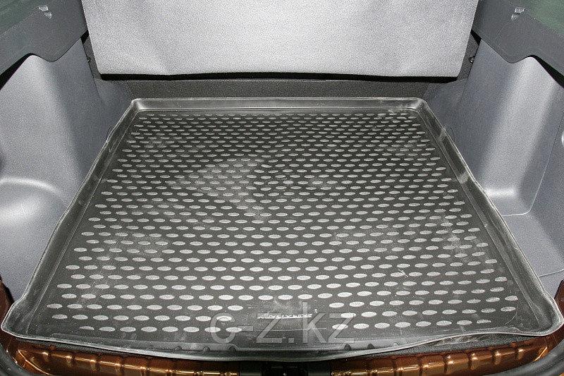 Резиновый коврик в багажник Nissan Terrano III 4wd 2014-н.в