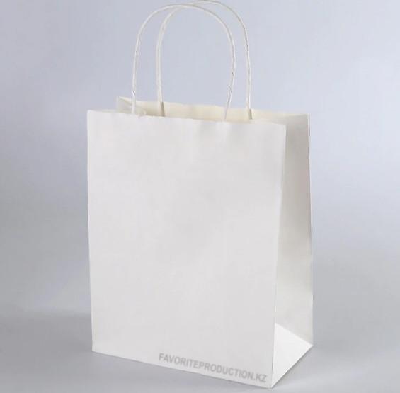Крафт пакет Белый   15см*20см