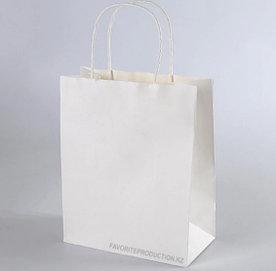 Крафт пакет Белый | 25см*30см