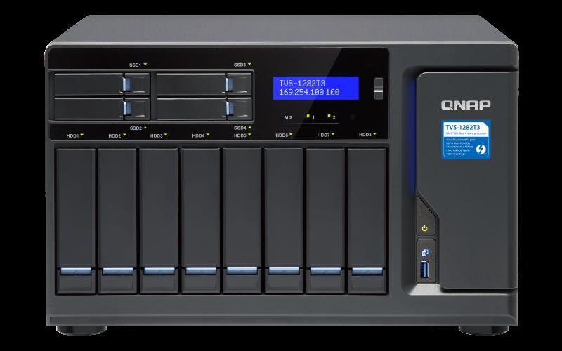 Сетевое хранилище QNAP TVS-1282T3-i7-64G