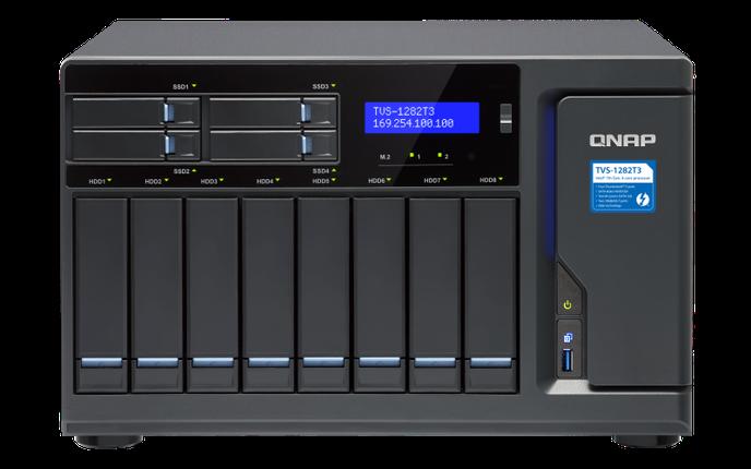 Сетевое хранилище QNAP TVS-1282T3-i7-64G, фото 2