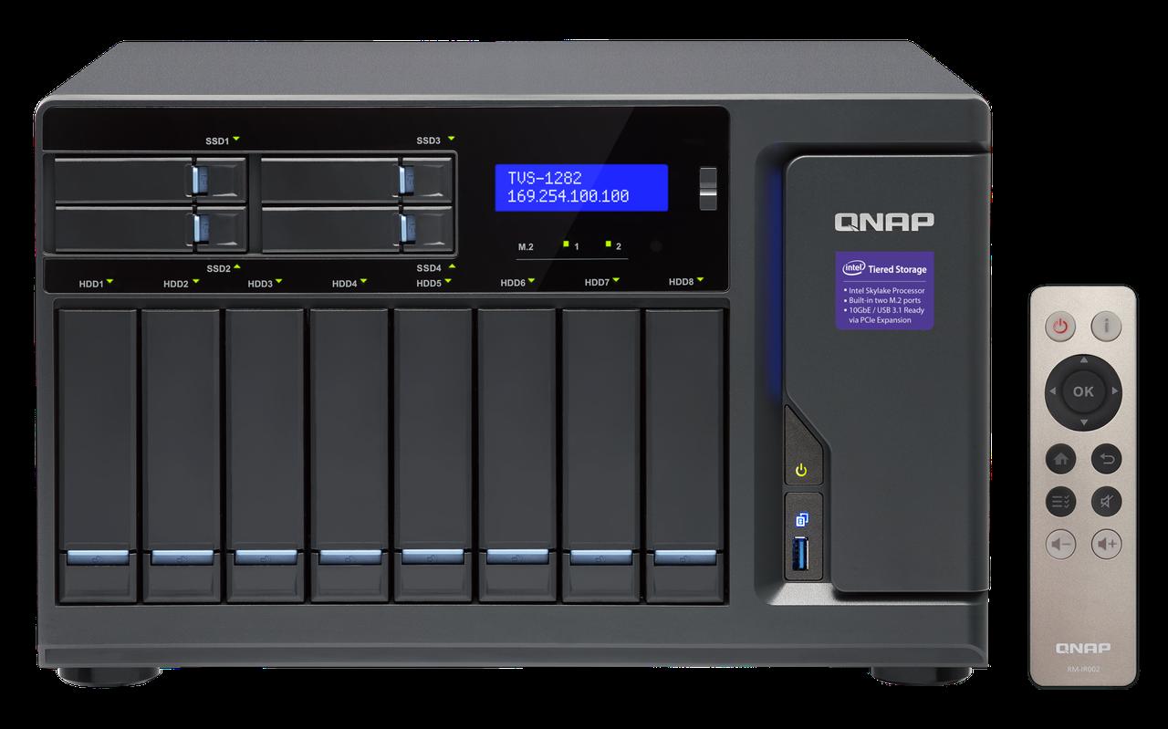 Сетевое хранилище QNAP TVS-1282-I3-8G