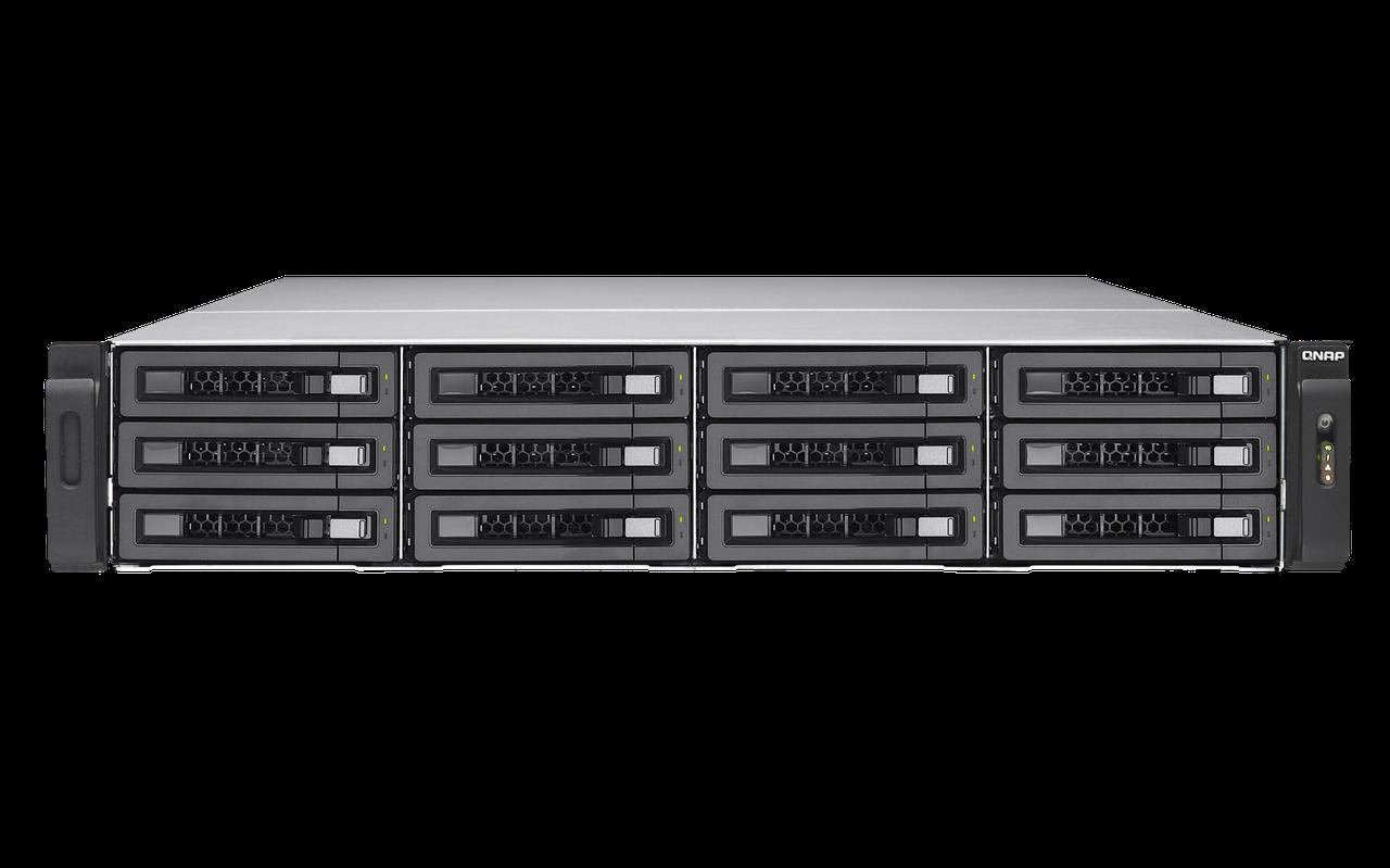 Сетевое хранилище QNAP TS-EC1280U-E3-4GE-R2