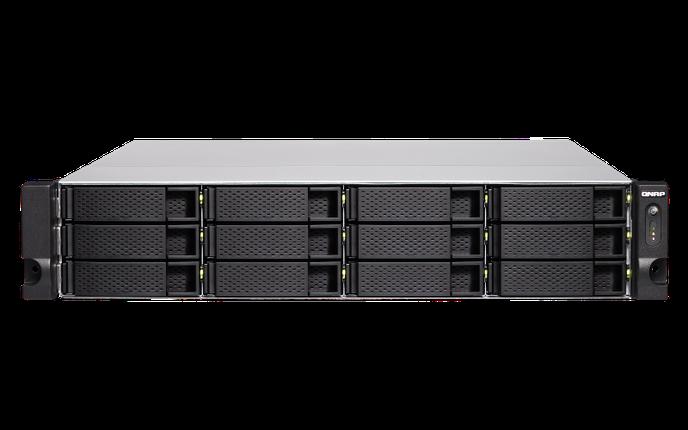 Сетевое хранилище QNAP TVS-1272XU-RP-i3-4G, фото 2