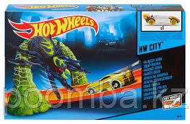 "Hot Wheels опасный мост ""Удар паука"""