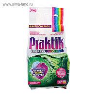 Стиральный порошок Praktik, универсальный, для ручной и машинной стирки, 3 кг