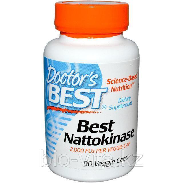 Doctor's Best, Наттокиназа, 2000 ед., 90 капсул