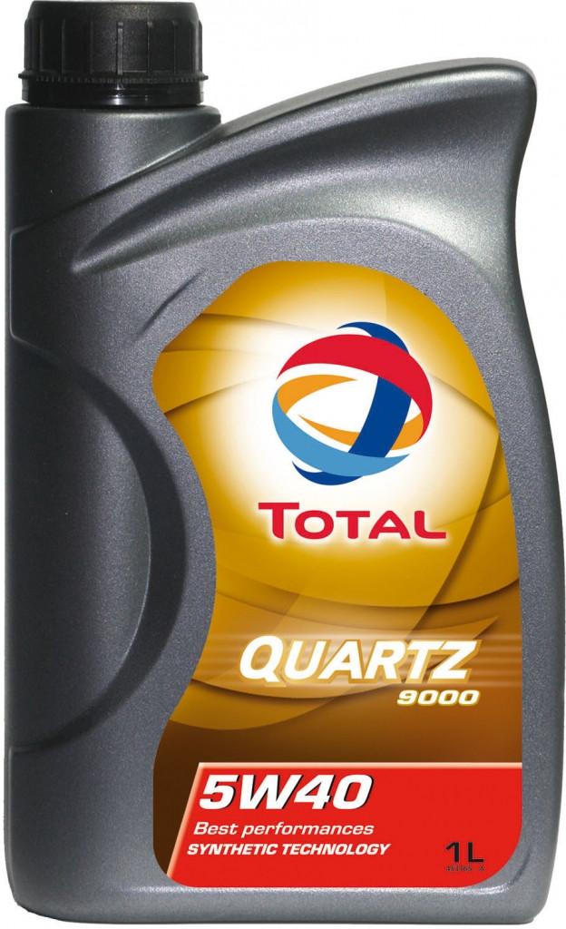 Масло TOTAL QUARTZ 9000 5W-40 синтетическое 1л.