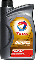 Масло TOTAL QUARTZ 9000 5W-40 синтетическое 1л., фото 1