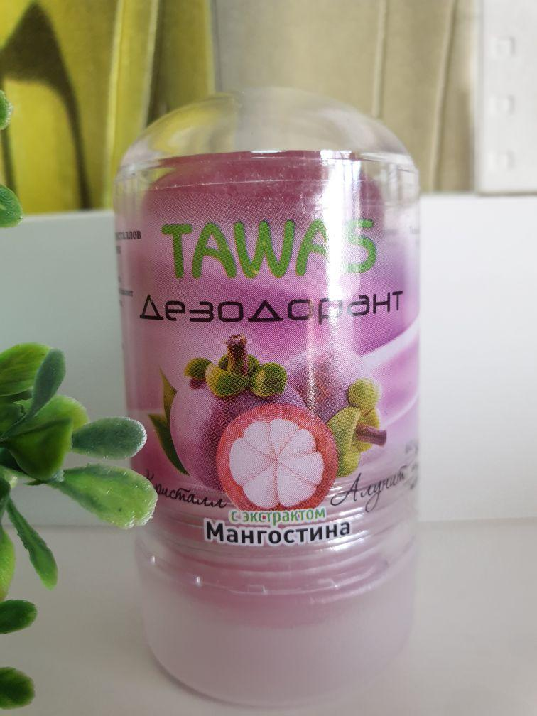 Дезодорант Алунит Кристалл TAWAS с соком Мангостина 60гр.