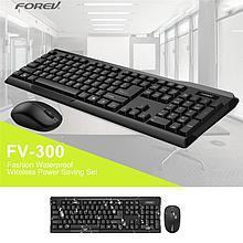 Клавиатура+мышь Forev USB FV-300 беспроводная