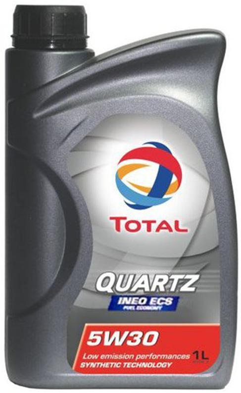 Синтетическое моторное масло QUARTZ INEO ECS 5W-30 1л.