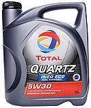 Синтетическое моторное масло QUARTZ INEO ECS 5W-30 1л., фото 2