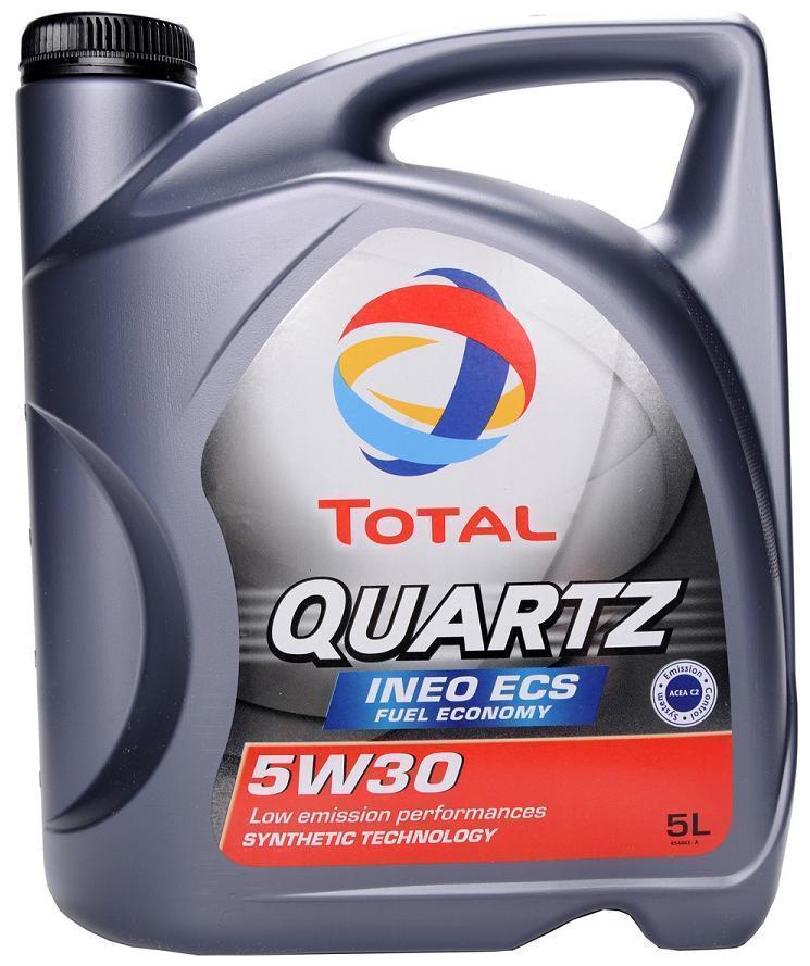 Синтетическое масло QUARTZ INEO ECS 5W-30 4л.
