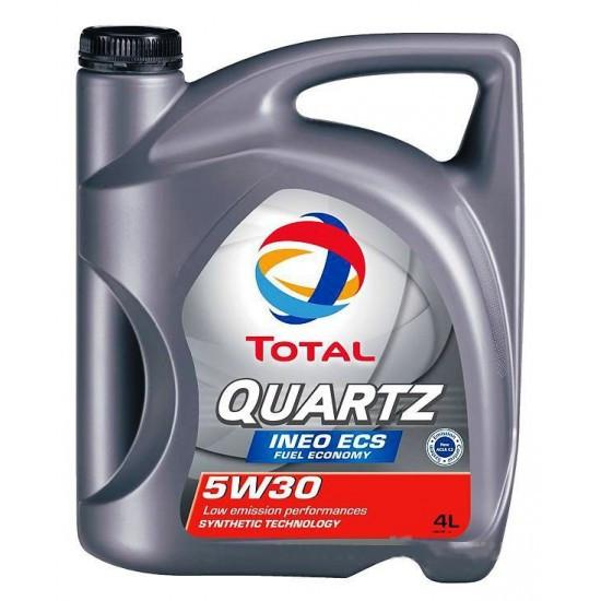 Синтетическое масло QUARTZ INEO ECS 5W-30 5л.