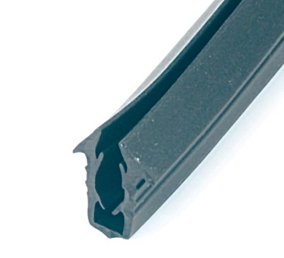 Уплотнитель стекла 16мм для профиля Window Box AC RU 016