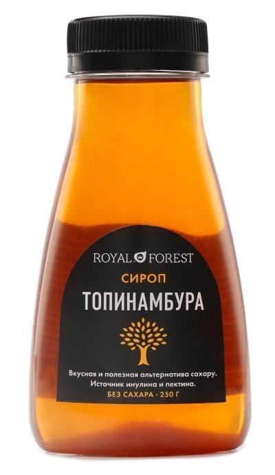 Сироп топинамбура без сахара Royal Forest, 250 гр