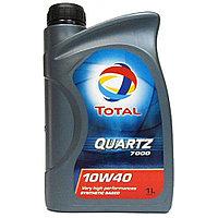 Total QUARTZ 7000 10W-40 полусинтетическое моторное масло 1л., фото 1