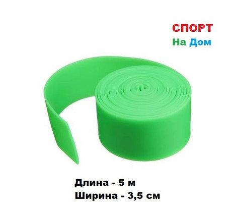 Резиновая эластичная лента эспандер для фитнеса, бокса 5 метров, фото 2