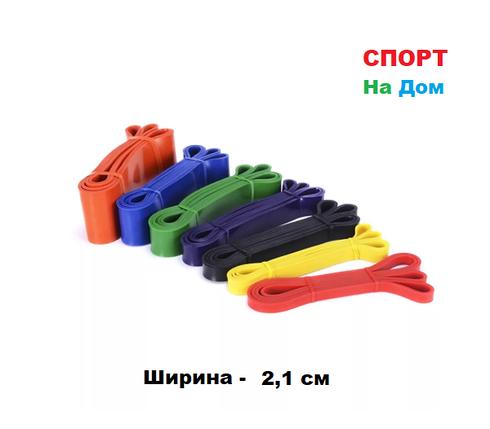 Резиновая эластичная лента эспандер для фитнеса, фото 2