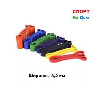 Резиновая эластичная лента эспандер для фитнеса