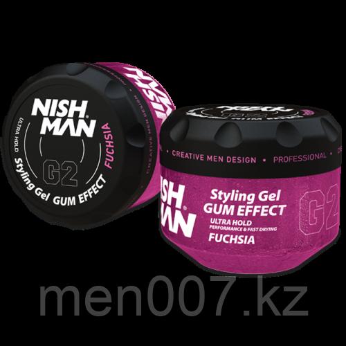Nishman Ultra Hold Gel G2 Fuchsia (Гель для укладки волос) 300 мл.