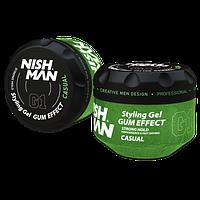 Nishman Ultra Hold Gel G1 Casual (Гель для укладки волос) 300 мл.