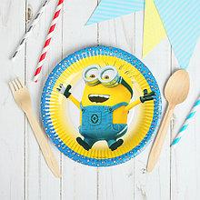 Бумажные тарелки для праздника d=24