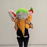 Мягкая игрушка мороженое, фото 2