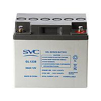 Аккумулятор SVC GL1238 12В 38 Ач (GEL), фото 1