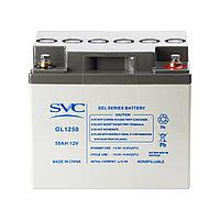 Аккумулятор SVC GL1250 12В 50 Ач (GEL)