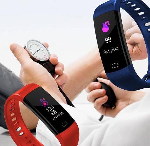 Тонометр -  смарт АД  - измерение давления, качественные часы для пожилых MI Smart Healthy С1