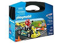 Конструктор Playmobil Возьми с собой: Картинг