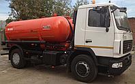 Машина вакуумная КО-523 МАЗ-5340В2 (ассенизатор), фото 1